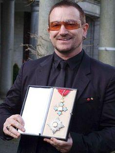 Sir Paul Hewson aka Bono