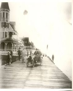 Ocean City Boardwalk c.1915