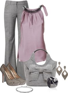 love gray and purple