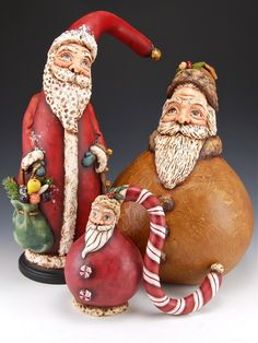Santa Gourds