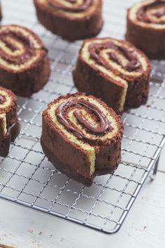Girelle alla Nutella: un vortice di pura golosità. Irresistibili! [Nutella swirl buns]
