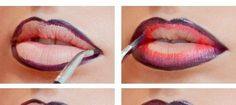 Romantic Ombre Lips
