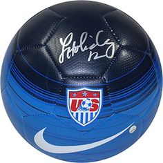 061b9863cb8ead Lauren Holiday Autographed Team Usa Blue Soccer Ball at Amazon s Sports  Collectibles Store