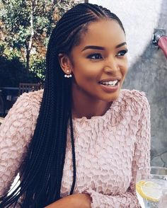 60 Totally Chic And Colorful Box Braids Hairstyles To Wear! - Part 15 - Ilse Siemer - 60 Totally Chic And Colorful Box Braids Hairstyles To Wear! - Part 15 60 Totally Chic Box Braids Hairstyles To Wear! My Hairstyle, Afro Hairstyles, Protective Hairstyles, Protective Styles, Black Hairstyles, Hairstyles 2018, Hairstyles Pictures, South African Hairstyles Braids, Conrows Hairstyles