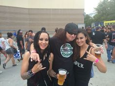 THREE SIXES Worldwide- Ashley Gassaway-Johnston and Ashley Nicole Ashes, California, USA #FanFriday
