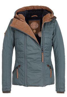 NAKETANO Pallaverolle II Jacke für Damen Grün Planet