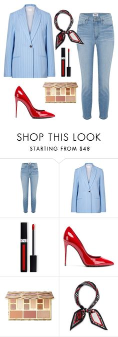 """""""Untitled #391"""" by teya-safi ❤ liked on Polyvore featuring Paige Denim, Victoria, Victoria Beckham, Dolce&Gabbana, Sephora Collection and Henri Bendel"""