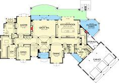 House floor plans. Winchester mystery house. Suburban house ...