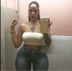Check out this hips, the biggest ever? Be the judge