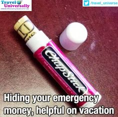 #Traveltips   It is always better to be prepared while being on move. So where do you like to keep your emergency money while being on vacation?  For more travel updates be connected to  Travel Universally