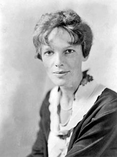 Amelia Earhart was a skilled pilot who found her calling at an early age. She was also a perfect specimen for celebrity.