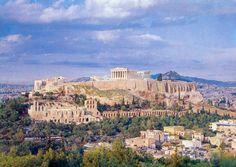 L'acropole d'Athènes, Grèce                                                                                                                                                      Plus