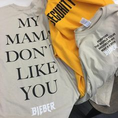 Purpose Tour merch is the bomb!