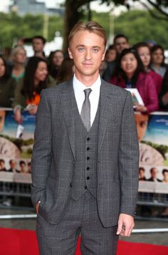 Harry Potter Stars Then and Now - Tom Felton (Now)
