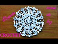 Carpeta a crochet para Mesa de Luz tutorial paso a paso - YouTube