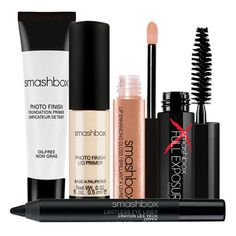 Smashbox 'Try It' Kit (€17) ❤ liked on Polyvore featuring beauty products, gift sets & kits, makeup, beauty, accessories, fillers, cosmetics, smashbox, smashbox kit and travel kit