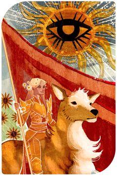 Avalon Trevelyan- The Sun  Assurance—Energy—Personal power—Happiness Splendor—Brilliance—Joy —Enthusiasm