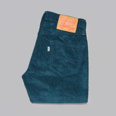 Levi's 511 Slim Fit RSW Cords in Reflecting Pond