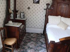 Inside Lizzie Borden's House - this is the location where Abby Borden's body was discovered on the morning of 4 August 1892.