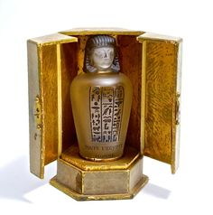 Art deco Egyptian revival Baccarat Egyptian Perfume Bottle in original Box, sold for $38,000 in May 2014
