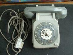Téléphone fixe à cadran