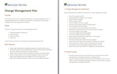 Service Level Agreement Template  A Template That Documents The