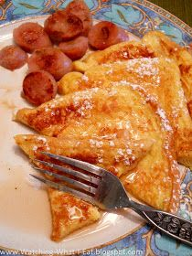 Watching What I Eat: Easy Cinnamon Vanilla French Toast