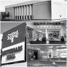 Southroads Mall in the late 1960s/1970s - Tulsa, OK   My Mom was the marketing director for the mall, during the late 70's early 80's :)