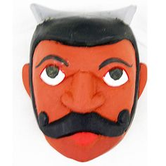 Kolam Theater Mask - Village Head (34) $25