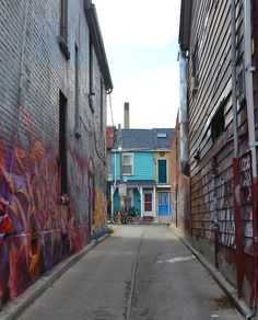 #toronto I have some crazy memories in this alley way. Its in Kensington Market Downtown Toronto.