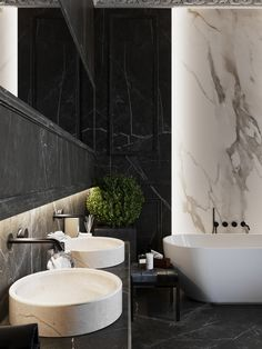 Stylish Best Inspirations to Design Luxury Apartment with Hot Tub Modern Interior, Home Interior Design, Interior And Exterior, Best Bathroom Designs, Bathroom Design Luxury, Interior Design Inspiration, Bathroom Inspiration, Black Marble Bathroom, Toilet Design
