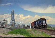 RailPictures.Net Photo: MRL 262 Montana Rail Link EMD SD40-2 at Townsend, Montana by Kevin The Krazy 1