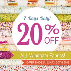 WIndham Fabric Sale