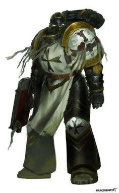 Warhammer 40k Art, Warhammer Fantasy, Black Templars, Imperial Fist, When They Cry, Game Workshop, Angel Of Death, The Grim, Space Marine