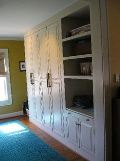 Bumped out bedroom closet