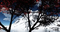 #Inverno #Winter #Mountain #Vue #3D #Digital