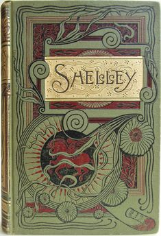 | Beautiful Vintage Book Cover