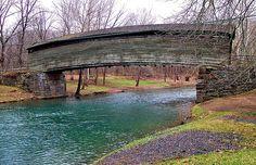 Virginia's Oldest Covered Bridge Covington
