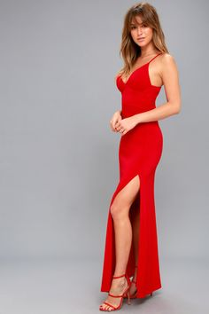 Limousine Queen Red Maxi Dress 2