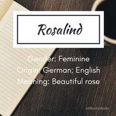 Rosalind - girl's name