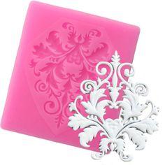 frame corner or corner decoration silicone mold fimo wepam plaster stand