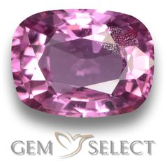 GemSelect features this natural untreated Sapphire from Tanzania. This Pink Sapphire weighs 1.2ct and measures 6.8 x 5.2mm in size. More Cushion-Cut Sapphire is available on gemselect.com #birthstones #healing #jewelrystone #loosegemstones #buygems #gemstonelover #naturalgemstone #coloredgemstones #gemstones #gem #gems #gemselect #sale #shopping #gemshopping #naturalsapphire #sapphire #pinksapphire #cushiongem #cushiongems #pinkgem #pink Pink Gemstones, Loose Gemstones, Natural Gemstones, Natural Sapphire, Pink Sapphire, Buy Gems, Gem S, Cushion Cut, Gemstone Colors