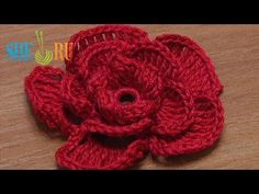 Crochet Rose Flower We invite you to visit https://www.sheruknitting.com/ There are over 800 video tutorials of crochet and knitting in different techniques. Also, you can see unique authors' design in these tutorials only on a website at https://www.sheruknitting.com/  Enjoy all you get from a membership: - No advertising on all tutorials; - Valuable in different devices; - Step by step and detailed video tutorials; - New courses added every week