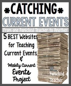 5 Websites for students to print out articles on Current Events! Excellent articles that students find relevant. template for students to use to organize their ideas!