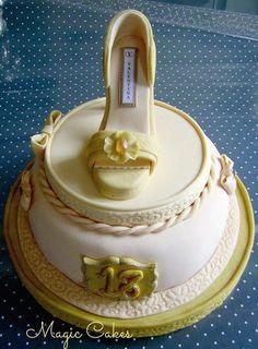 All edible ~ Valentina  Shoe cake