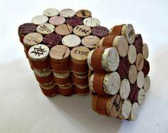 Corcho del vino lápiz titular mesa accesorios por LizzieJoeDesigns