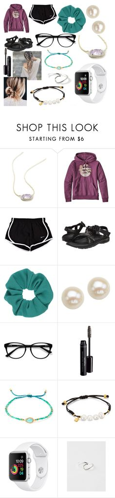 """""""Camping Trip"""" by hope-halat on Polyvore featuring Kendra Scott, Patagonia, Chaco, Topshop, Honora, EyeBuyDirect.com, Bare Escentuals, Tai, TOUS and Pura Vida"""
