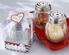 """""""Seasoned with Love"""" Party Favors for kitchen themed bridal shower"""