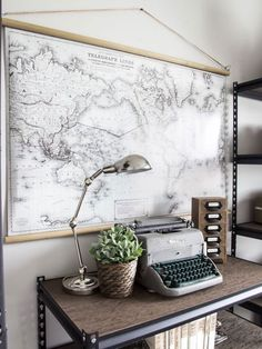 6 Cheap And Easy Unique Ideas: Vintage Home Decor Diy Wall Papers vintage home decor shabby cabinets.Vintage Home Decor Farmhouse Bathroom vintage home decor living room diy projects.Vintage Home Decor Diy Vintage, Vintage Industrial Decor, Vintage Design, Style Vintage, Vintage Home Decor, Industrial Style, Industrial Design, Industrial Shelving, Industrial Lamps