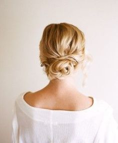 Chignon Wedding Hairstyles - is a bun created from hair curved into loops and pinned at the back of the head. Look these cool 20 Chignon Wedding Hairstyles. Low Bun Hairstyles, My Hairstyle, Pretty Hairstyles, Wedding Hairstyles, Summer Hairstyles, Hairstyle Ideas, Bridesmaids Hairstyles, Homecoming Hairstyles, Perfect Hairstyle